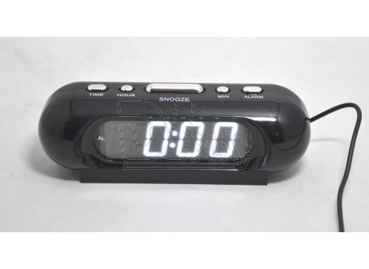 VST 716-6 часы настольные с белыми цифрами