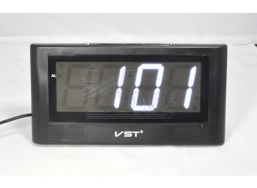 VST 732-6 часы настольные с белыми цифрами