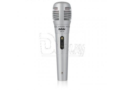 Микрофон BBK CM 114 серебрянный