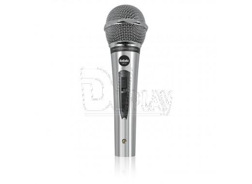 Микрофон BBK CM 131 серебряный