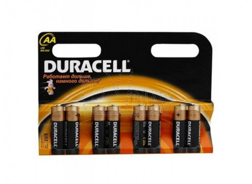 Duracell LR6 AA BP8 упаковка 8шт