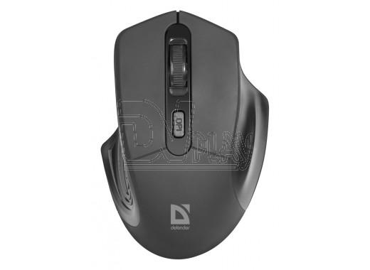 Мышь Defender MB-345 Datum черная
