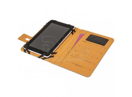 """Чехол для планшета Defender Favo Uni 10.1"""" серо-оранжевый"""