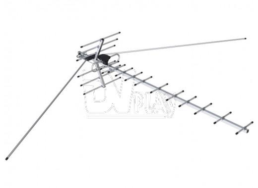 Наружная антенна REMO BAS-1331-DX-Z Диапазон в пакете