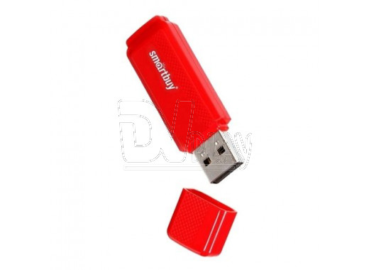 USB Flash 8Gb Smart Buy Dock красная