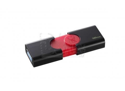 USB Flash 16Gb Kingston DT106 черно-красная 3.0