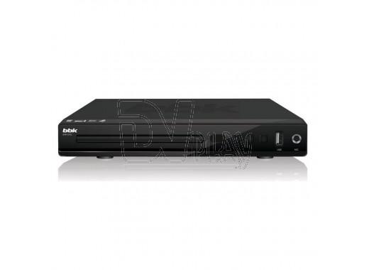 DVD плеер BBK DVP157SI черный