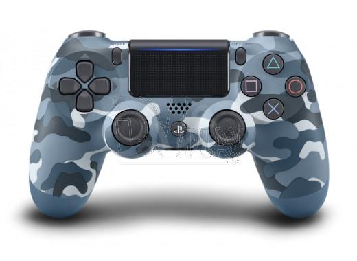 Джойстик DualShock 4 v.2 синий камуфляж
