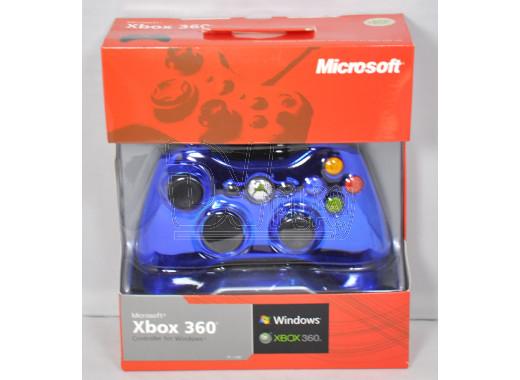 Джойстик XBOX 360/PC Chrome Blue