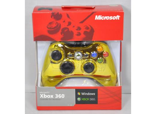 Джойстик XBOX 360/PC Chrome Gold