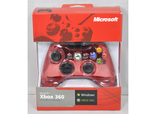 Джойстик XBOX 360/PC Chrome Red