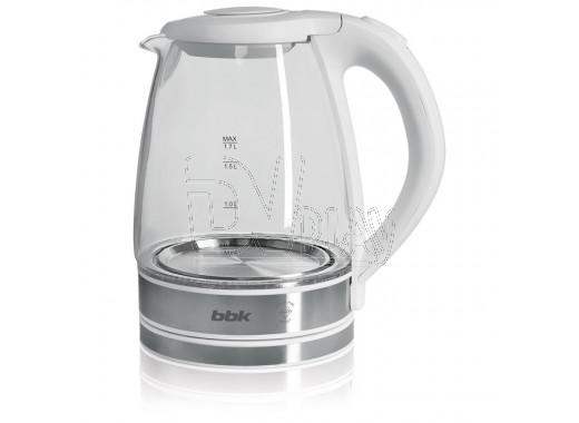 Электрический чайник BBK EK1726G белый металлик