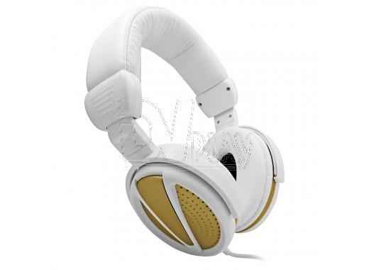 Наушники BBK ЕР-3300S бело-золотистые