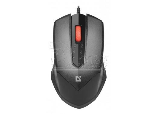 Мышь Defender MB-753 Expansion USB черная