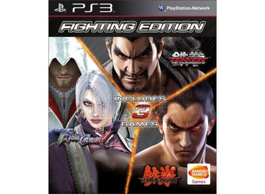 Fighting Edition (Tekken 6 + Soul Calibur 5 + Tekken Tag Tournament 2) (русские субтитры) (PS3)