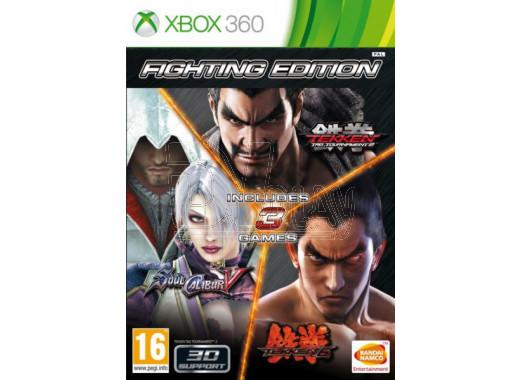 Fighting Edition (Tekken 6, Soul Calibur 5, Tekken Tag Tournament 2) (русские субтитры) (XBOX 360)