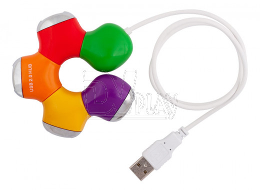 USB HUB PC PET Flower