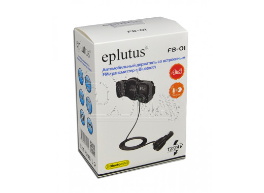 FM-трансмиттер Eplutus FB-01 Bluetooth, Handsfree