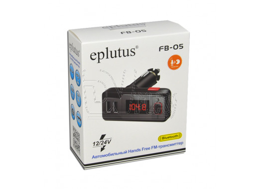 FM-трансмиттер Eplutus FB-05 Bluetooth, Handsfree