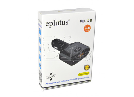 FM-трансмиттер Eplutus FB-06 Bluetooth, Handsfree