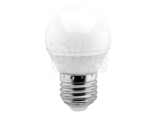 Светодиодная Лампа Smartbuy G45 Е27 8,5Вт белый свет