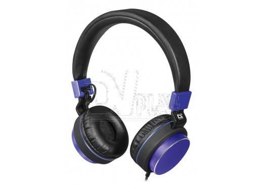 Гарнитура Defender Accord 165 черно-синяя