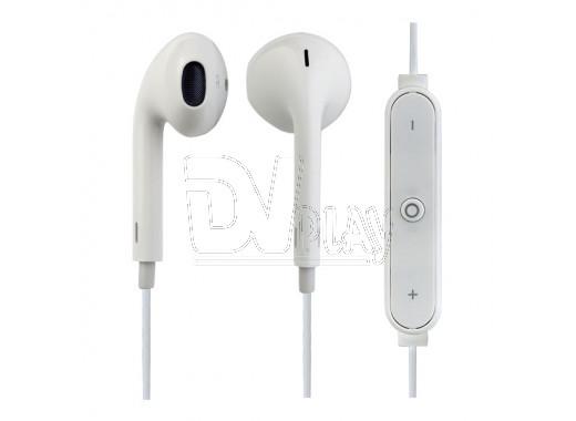 Гарнитура Perfeo Light Bluetooth белая