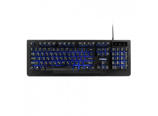 Клавиатура игровая Гарнизон GK-310G черная с подсветкой