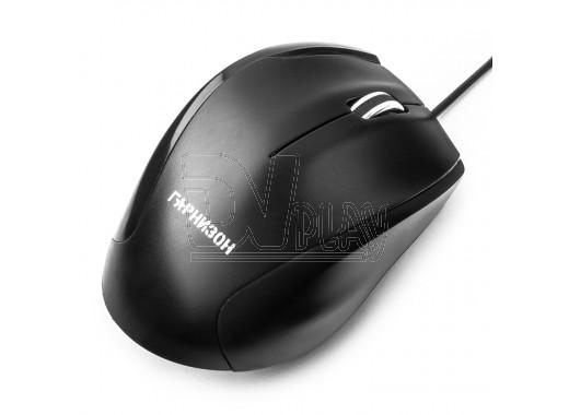 Мышь Гарнизон GM-205 USB черная