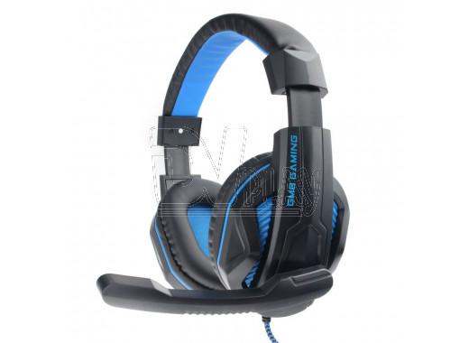 Gembird MHS-G215 гарнитура игровая черно-синяя