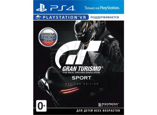 Gran Turismo Sport (русская версия) (PS4)