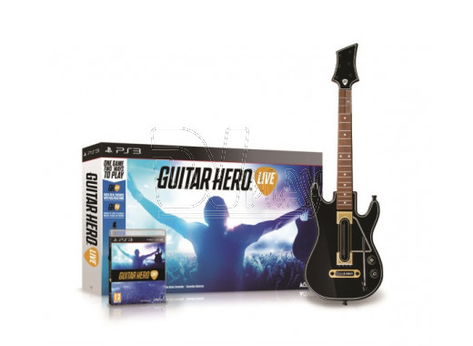 Guitar Hero Live Bundle (Гитара + игра) (PS3)