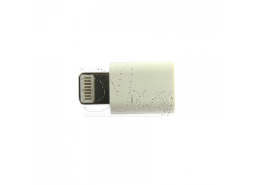 Переходник Dialog Apple 8 pin (M) - microUSB (F)