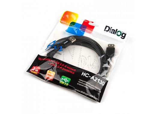 Удлинитель USB 3 м Dialog