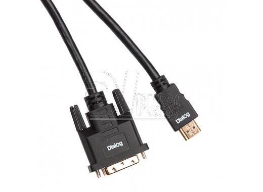 Кабель HDMI - DVI 1,8 м Dialog