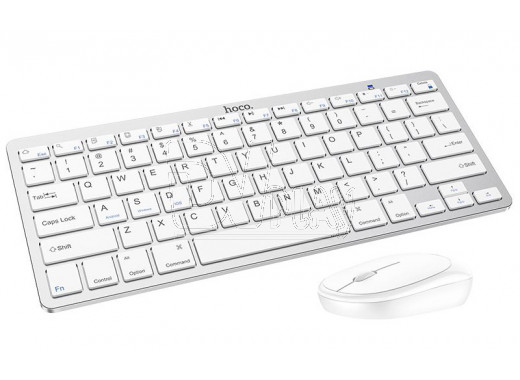 Hoco DI05 клавиатура + мышь белый