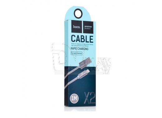 Кабель USB A - Lightning (1 м) Hoco. X2