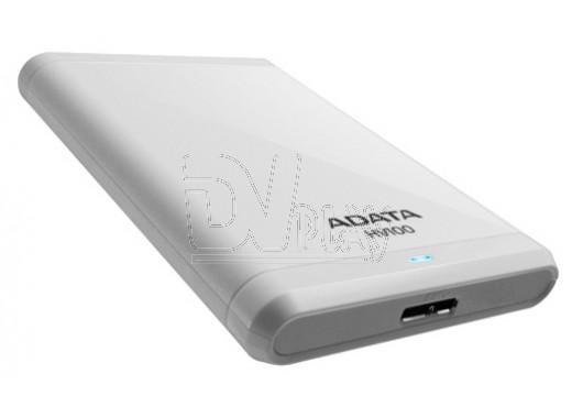 Внешний HDD 1 TB A-DATA HV100 USB 3.0 белый
