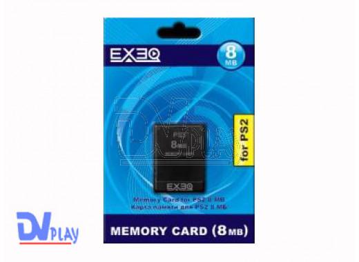 Карта памяти PS2 8Mb EXEQ