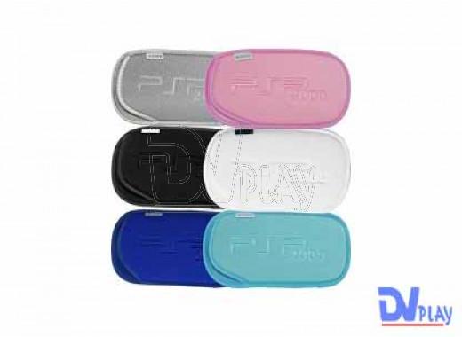 PSP Slim сумка мягкая цветная