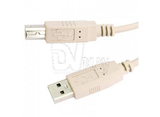 Кабель USB A - USB B (1.8 м) Defender для внешних устройств
