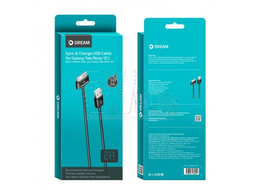 Кабель USB A - Galaxy Tab/Note 10.1 (1 м) Dream GT1