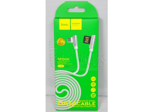 Кабель USB A - micro USB B (1,2 м) Hoco. U42