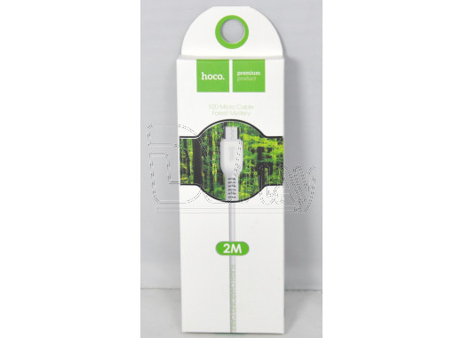 Кабель USB A - micro USB B (2 м) Hoco. X20