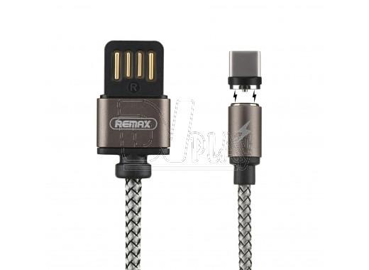 Кабель USB A - USB Type-C (1 м) Remax RC-095a магнитный
