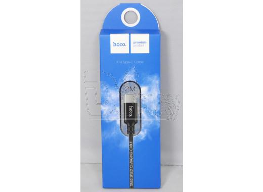 Кабель USB A - USB Type-C (2 м) Hoco. X14