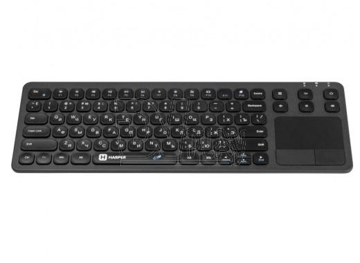 Клавиатура HARPER KBT-570 (беспроводная c тачпадом)