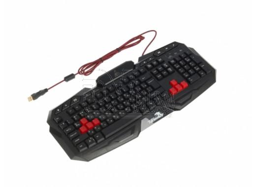 Клавиатура игровая Xtrike Me KB-601 черная с подсветкой