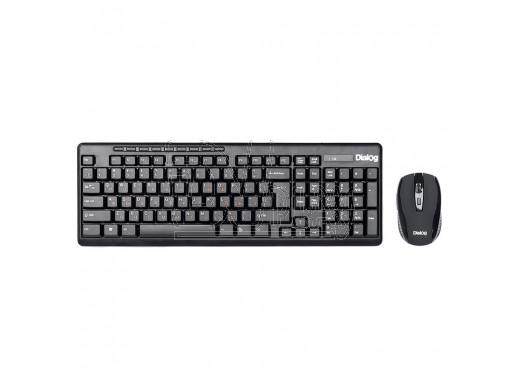 Dialog Pointer KMROP-4020U клавиатура + мышь черные