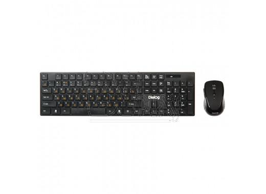 Dialog Pointer KMROP-4030U клавиатура + мышь черные